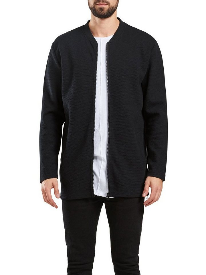 ONLY & SONS Lange Blouson- Jacke in Black