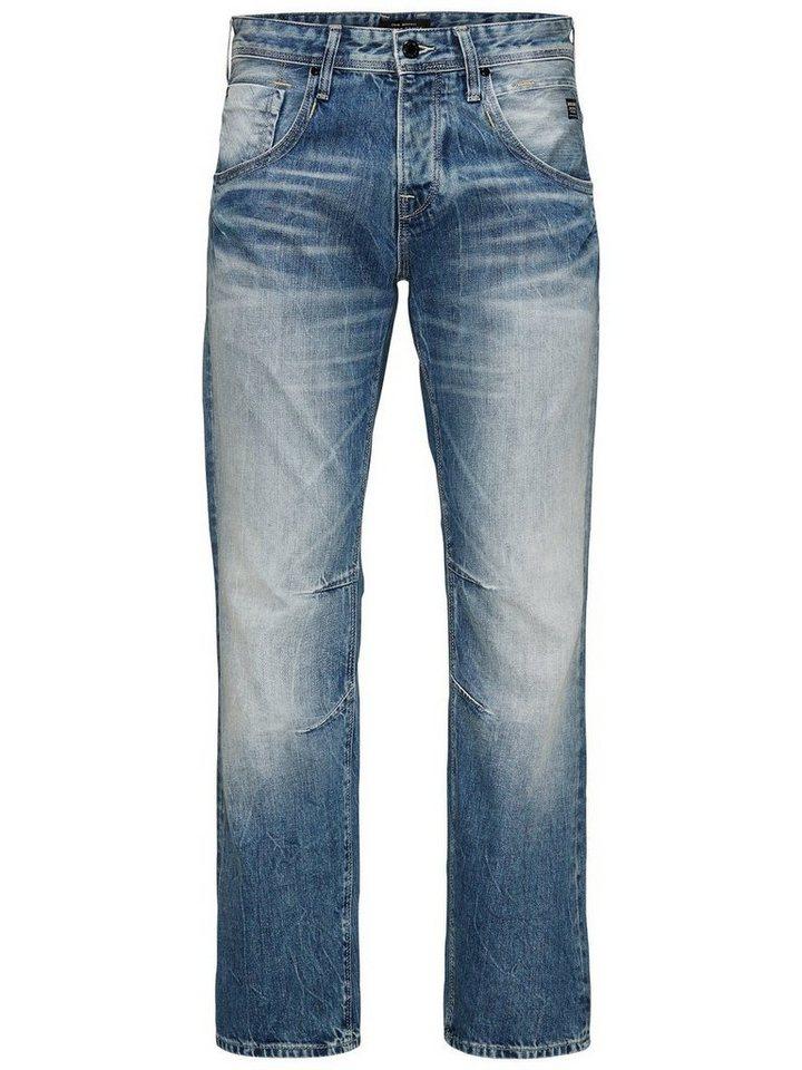 Jack & Jones Boxy Leed JJ 947 Loose Fit Jeans in Blue Denim