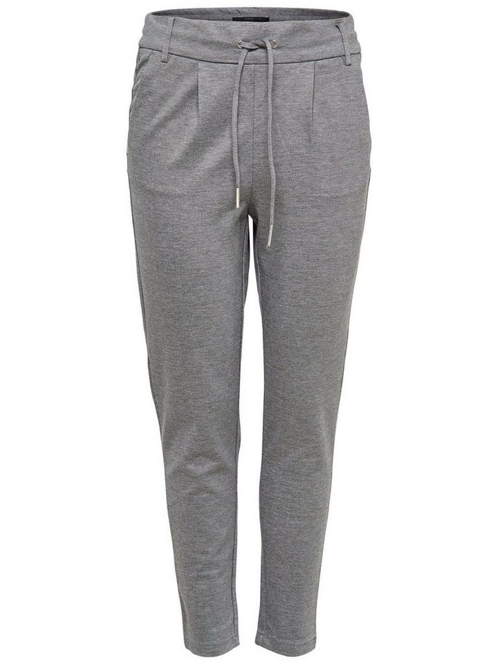Only Einfarbige Hose in Medium Grey Melange