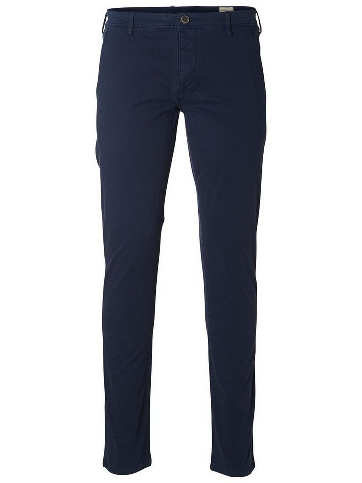 SELECTED Skinny-Fit- Chino in Navy Blazer