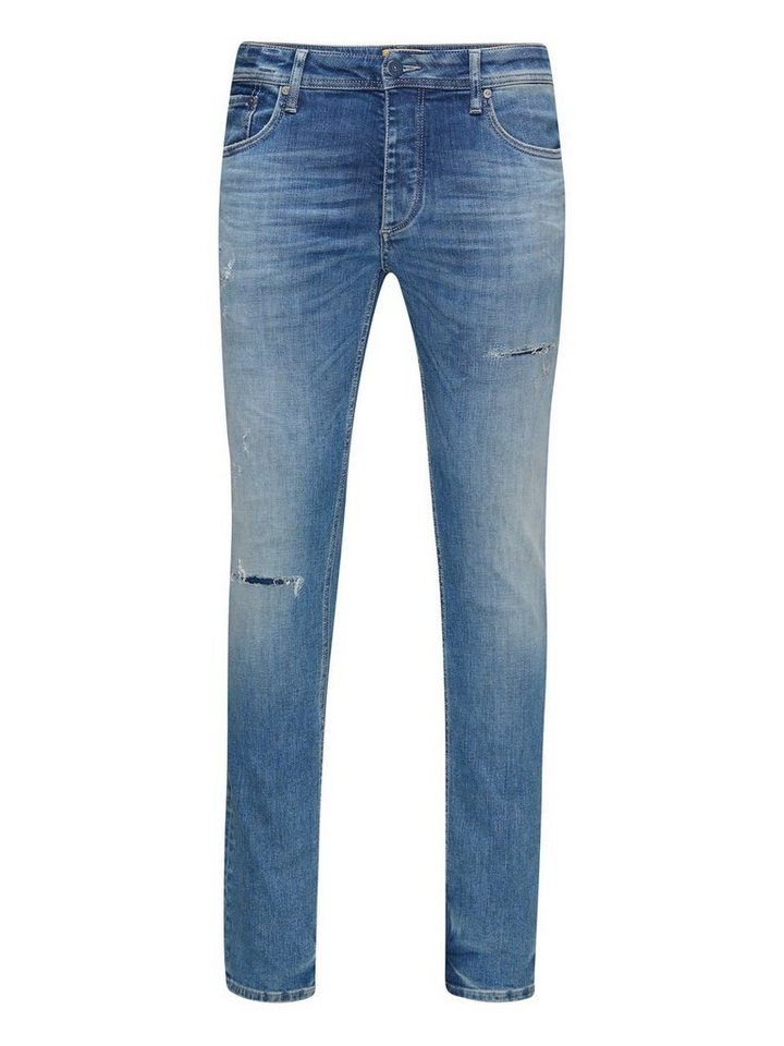 Jack & Jones Tim Original JJ 925 Slim Fit Jeans in Blue Denim