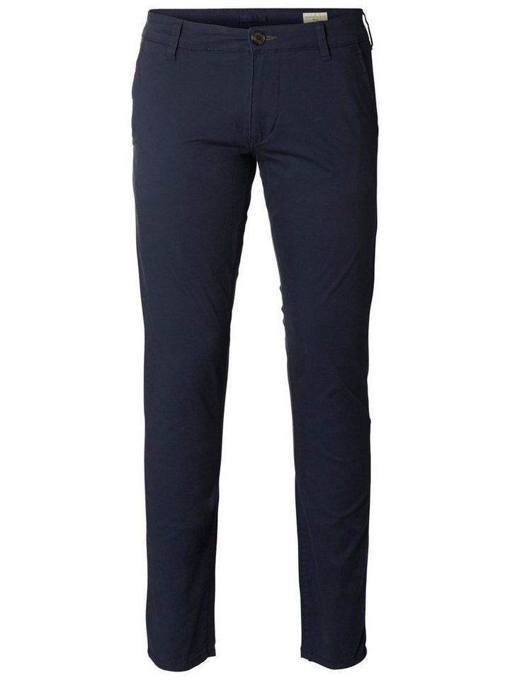 SELECTED Regular-Fit- Chino in Navy Blazer