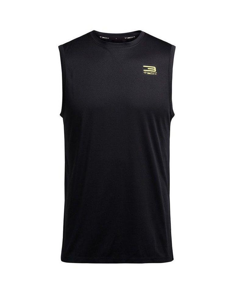 Jack & Jones Tech Ärmelloses T-Shirt in Black