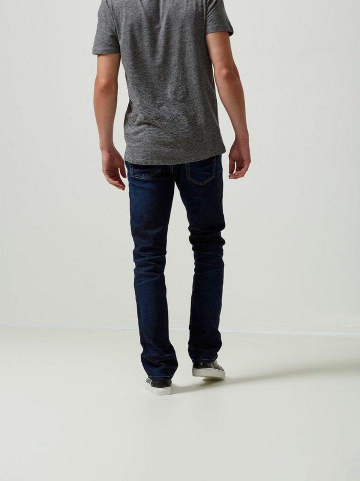 SELECTED Blaue Regular fit Jeans in Dark Blue Denim
