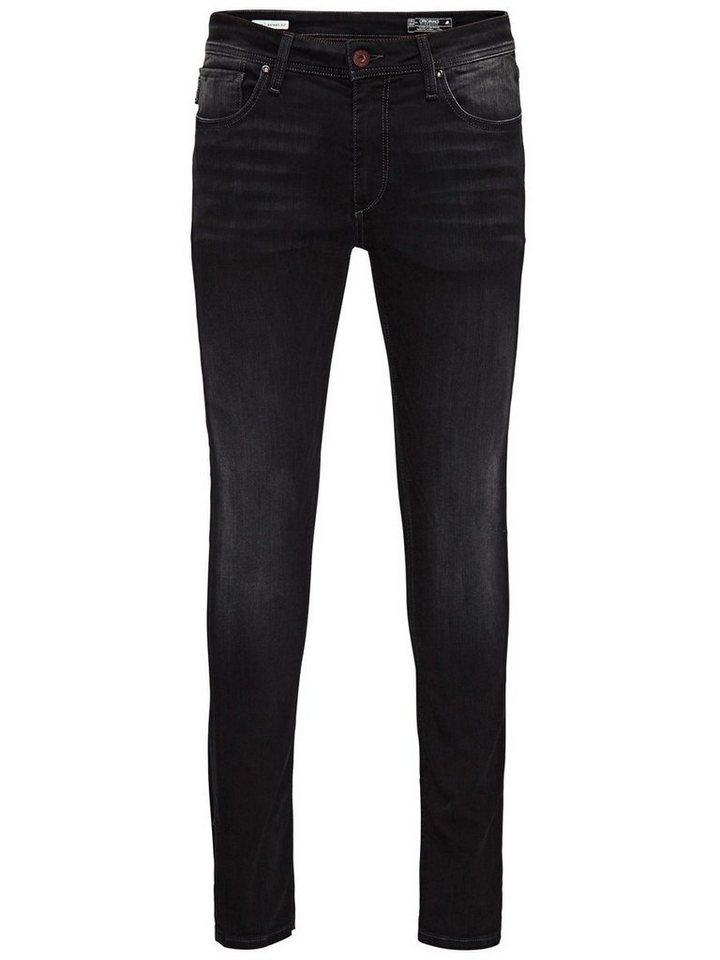 Jack & Jones Liam Original JJ 911 Super Stretch Skinny Fit Jeans in Blue Denim