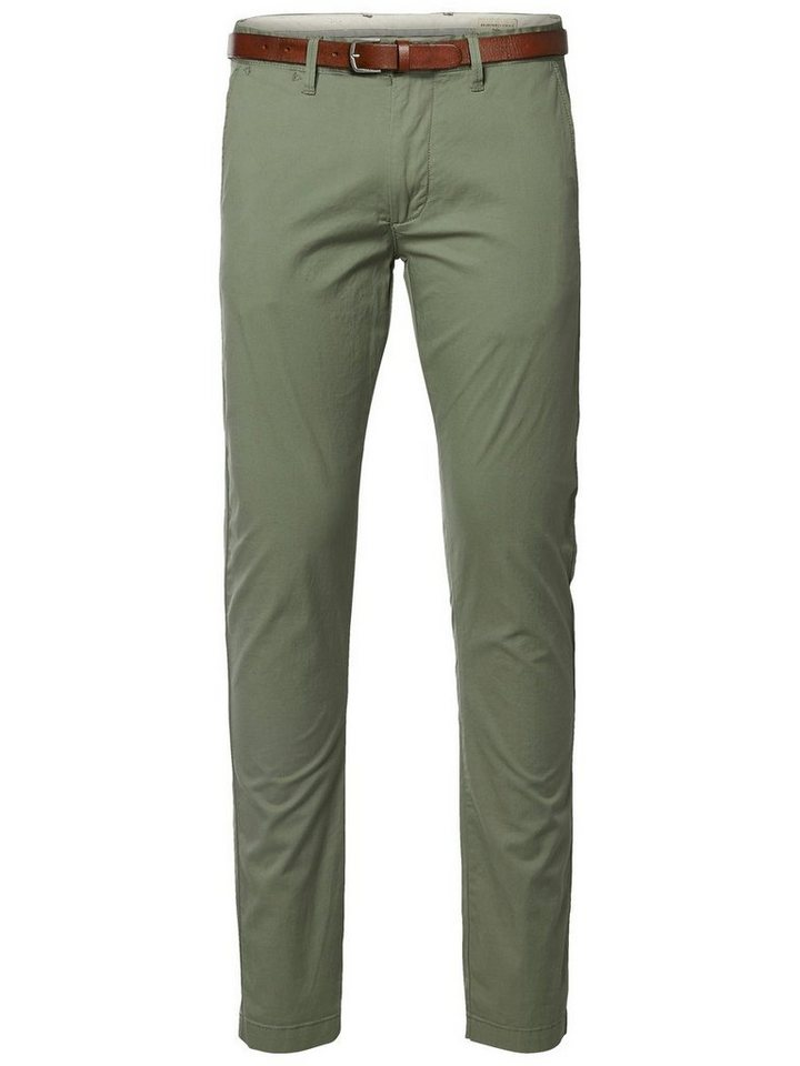 SELECTED Slim-Fit- Chino in SEA SPRAY