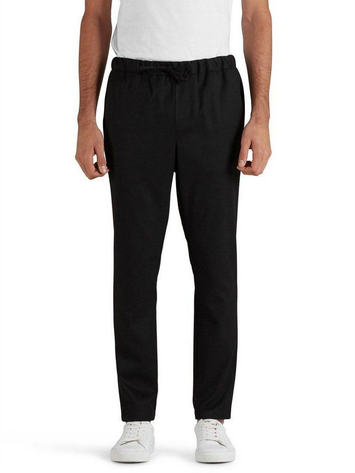 Jack & Jones Taillierte Tunnelzug- Hose in Black