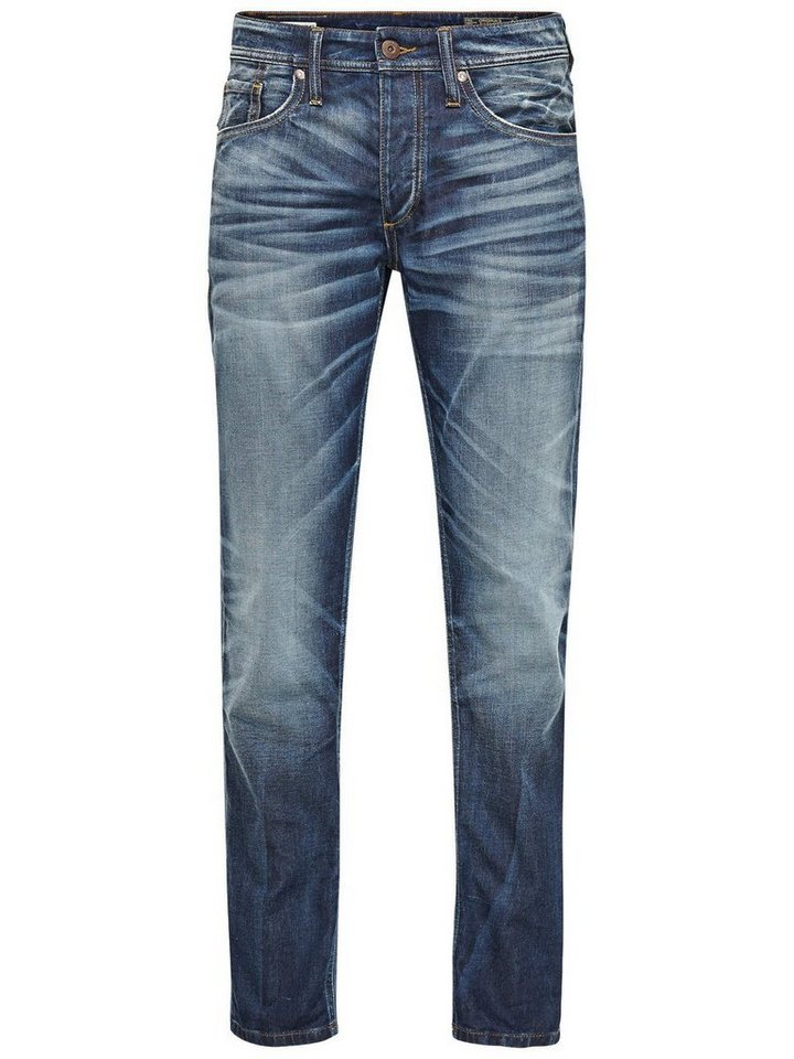 Jack & Jones Mike Original GE 201 Comfort Fit Jeans in Blue Denim
