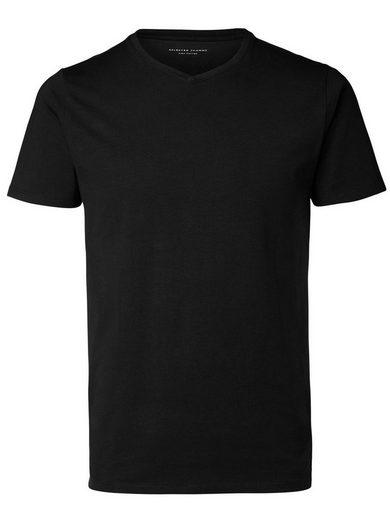 Selected V-Ausschnitt T-Shirt