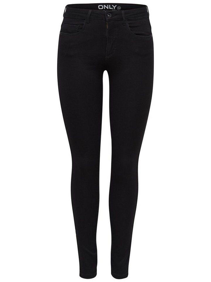 Only Royal reg. Skinny Fit Jeans in Black