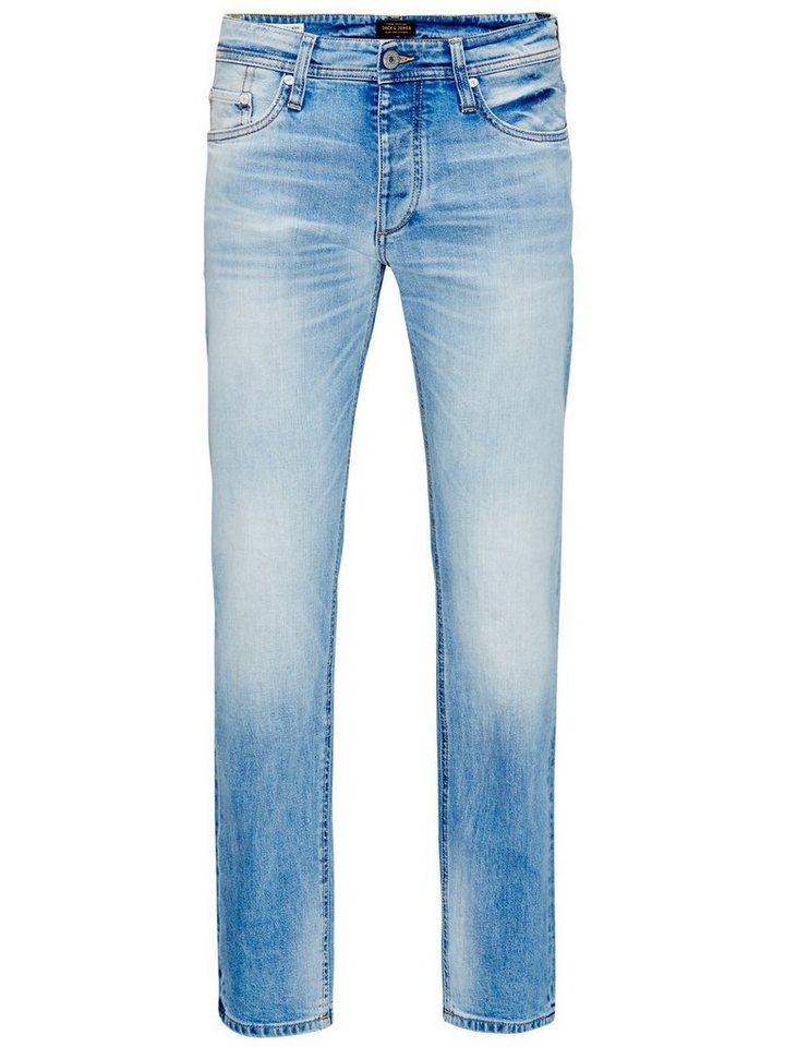 Jack & Jones Mike Original ge 452 Comfort Fit Jeans in Blue Denim