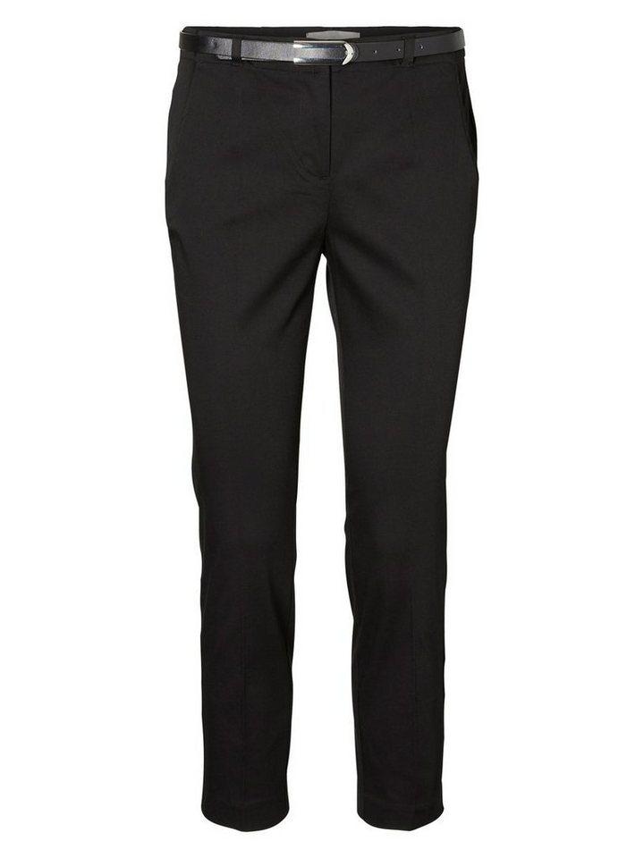 Vero Moda Slim Fit Hose in Black