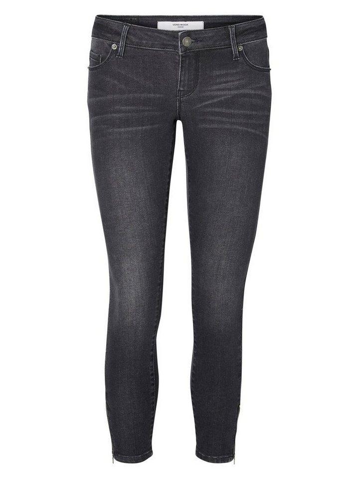 Vero Moda Skinny Fit Jeans in BLACK 2