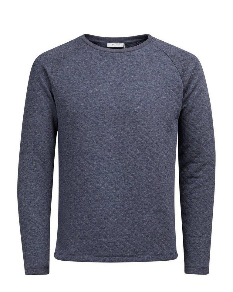 Jack & Jones Gefüttertes Sweatshirt in Navy Blazer