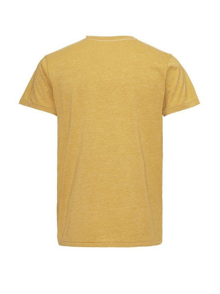 Jack & Jones Bleich bedrucktes T-Shirt in Narcissus