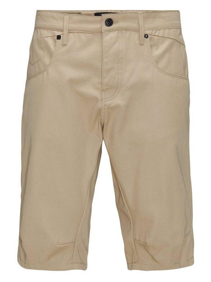 Jack & Jones Lester lange Shorts in CORNSTALK