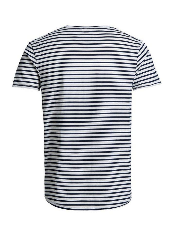 Jack & Jones Taschendetail T-Shirt in White