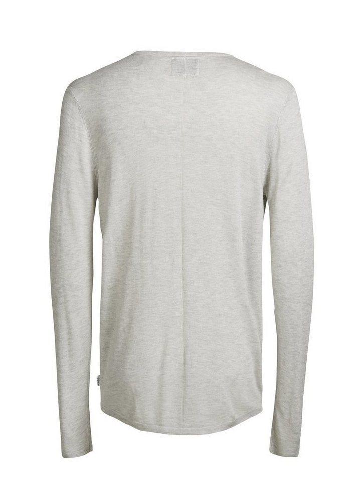 Jack & Jones Leichter Pullover in Treated White
