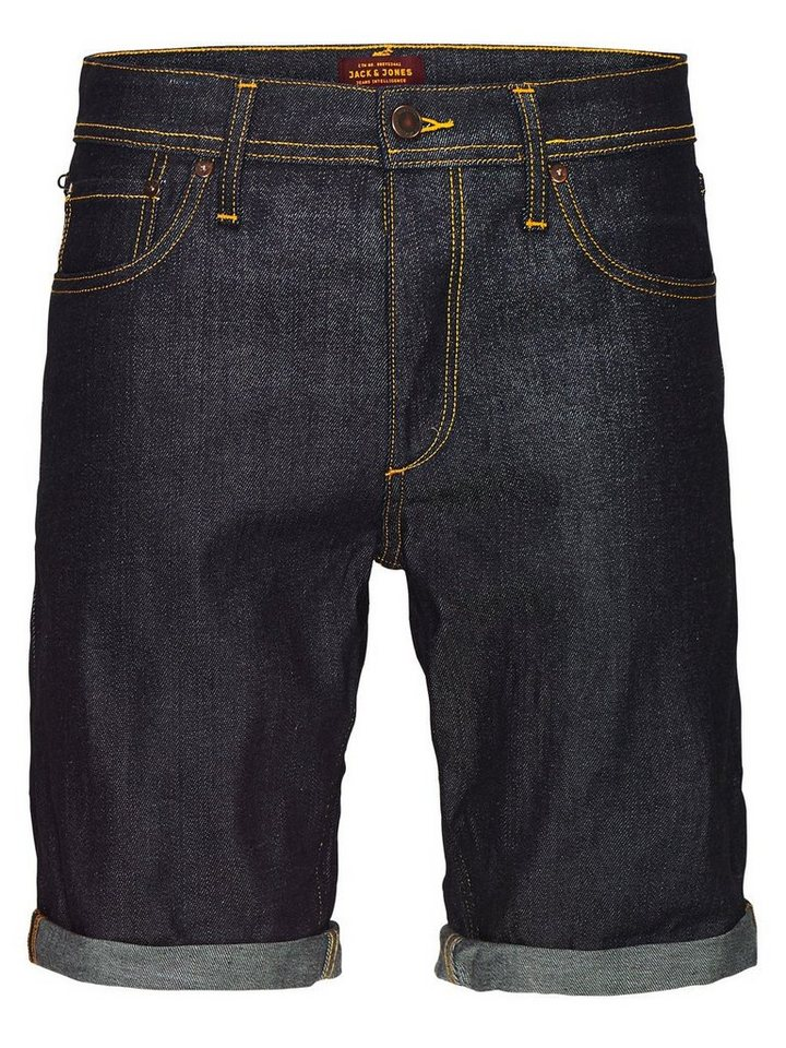 Jack & Jones Rick Original Jeansshorts in Blue Denim