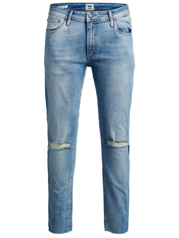 Jack & Jones Ben Fox JOS 438 Skinny Fit Jeans in Blue Denim