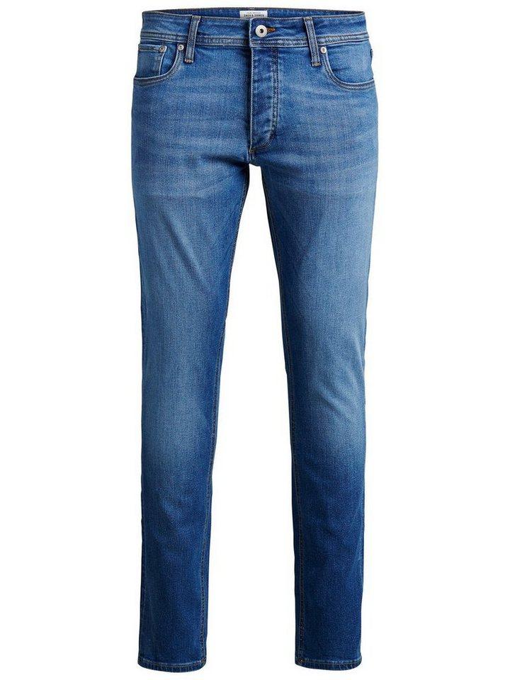Jack & Jones Tim Original AM 020 Slim Fit Jeans in Blue Denim