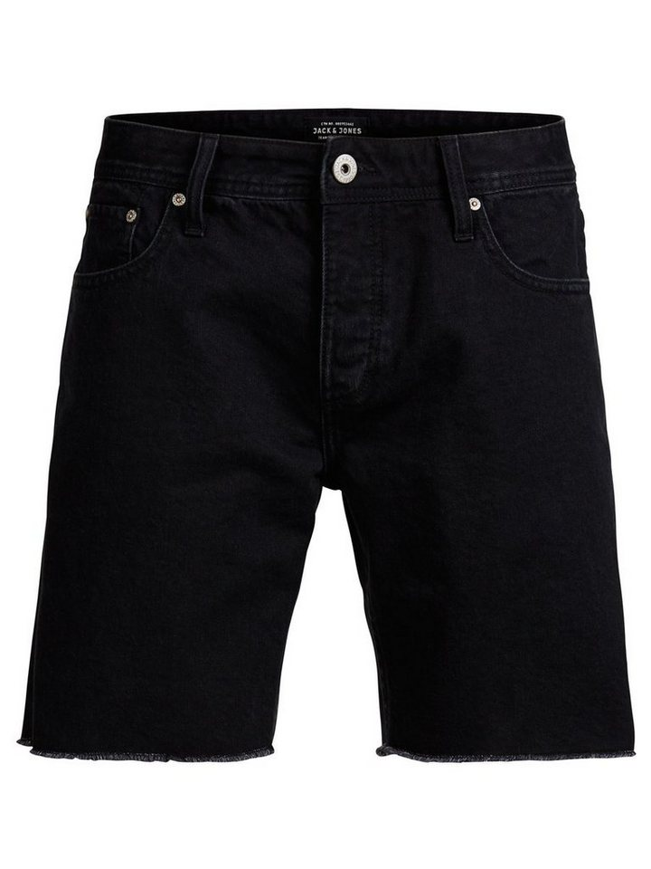 Jack & Jones 5-Taschen Shorts in Black Denim