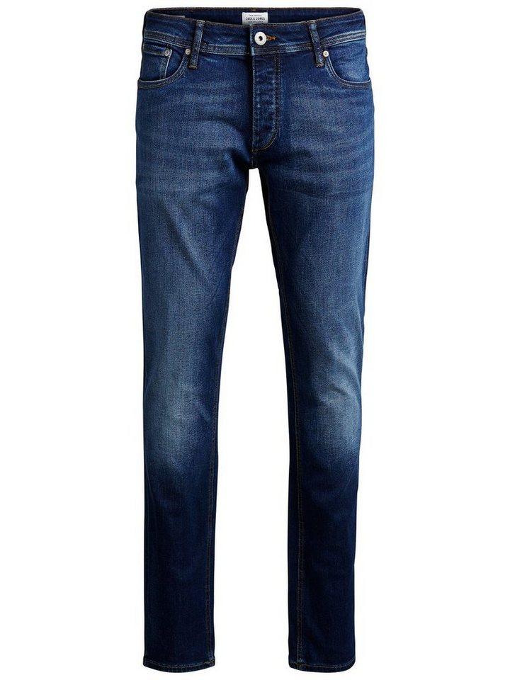 Jack & Jones Tim Original AM 019 Slim Fit Jeans in Blue Denim