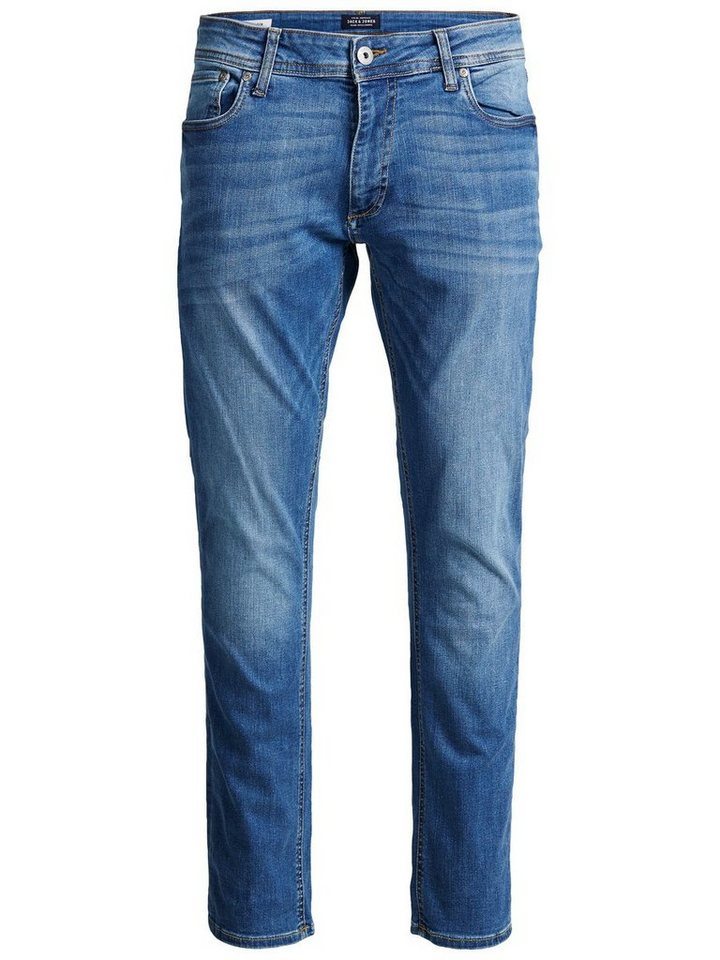 Jack & Jones Tim Original AM 015 Slim Fit Jeans in Blue Denim
