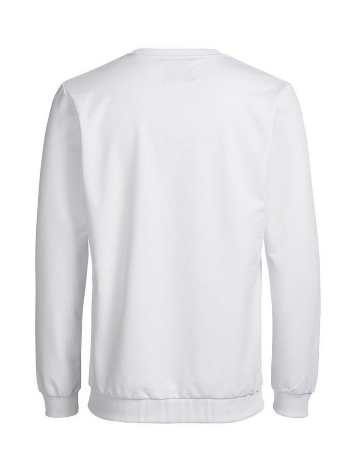 Jack & Jones Grafik- Sweatshirt in White