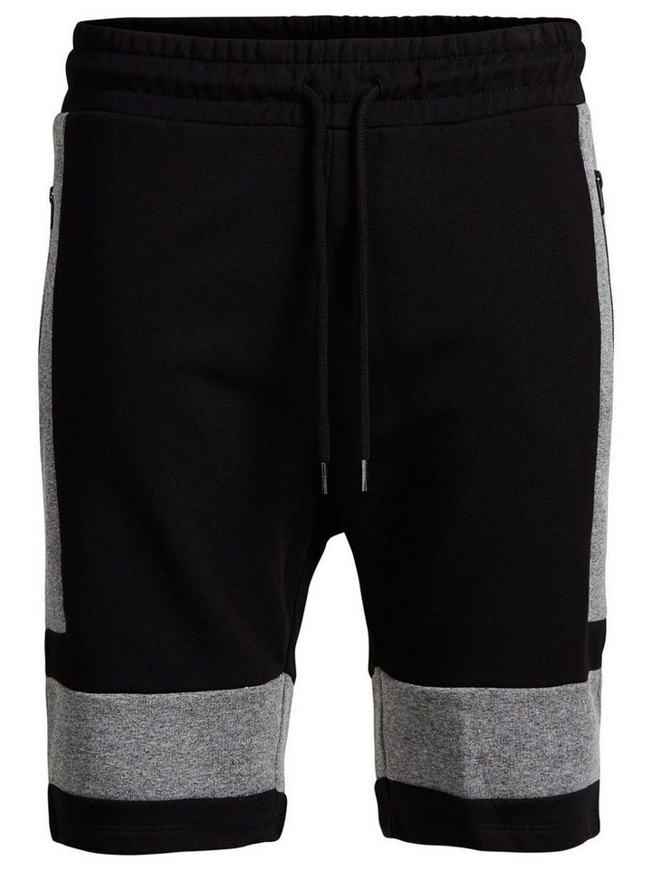 Jack & Jones Regular-Fit- Sweatshorts in LIGHT GREY MELANGE