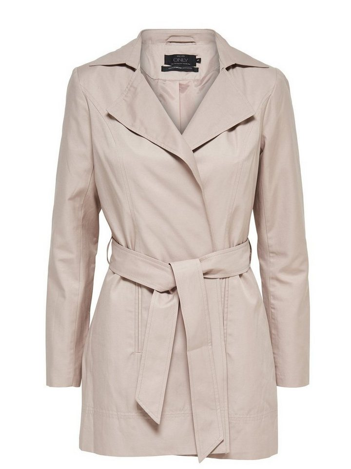 Only Klassischer Trenchcoat in Simply Taupe