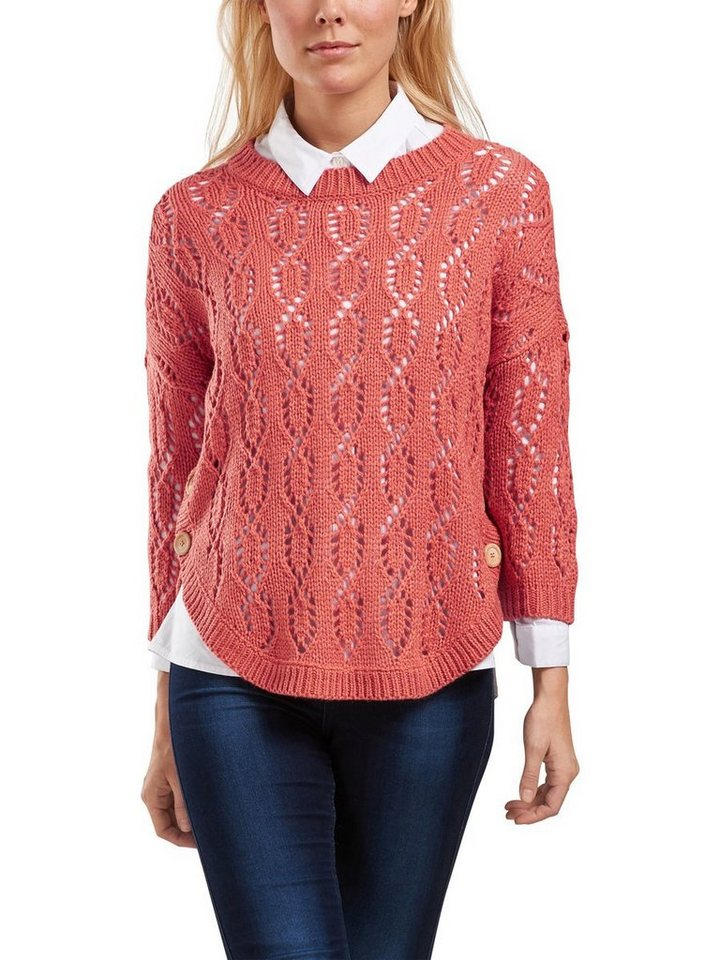 Only Detaillierter Strickpullover in FADED ROSE