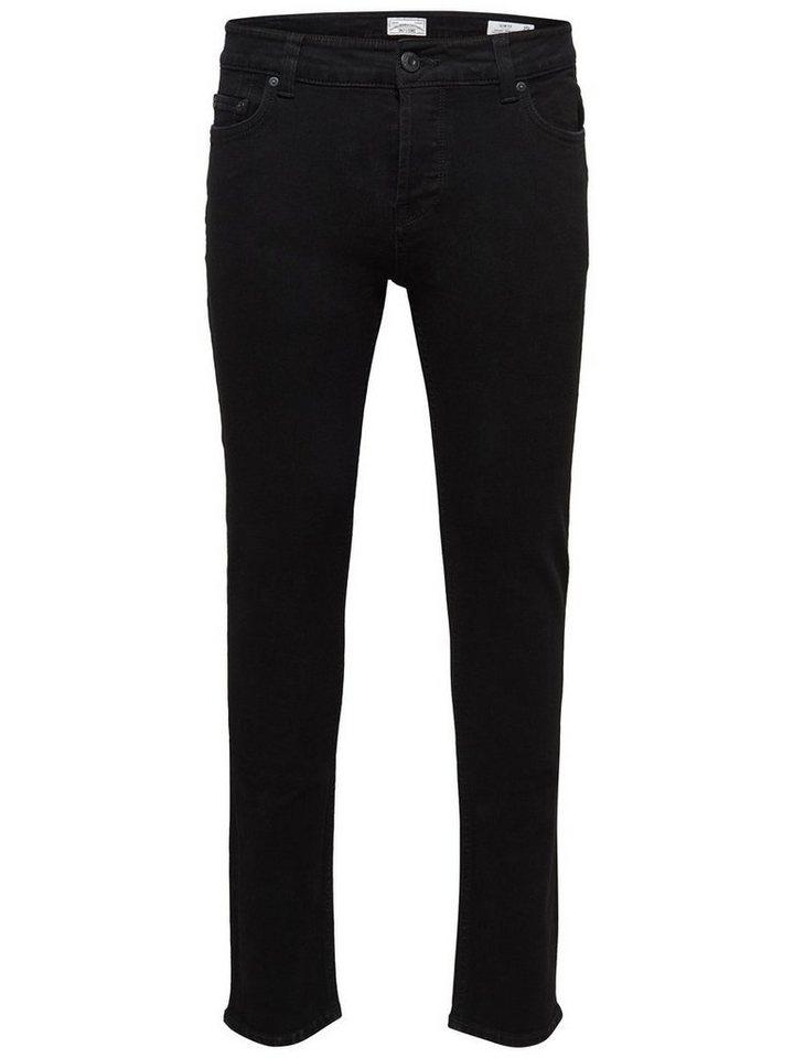 ONLY & SONS Loom black Slim Fit Jeans in Black