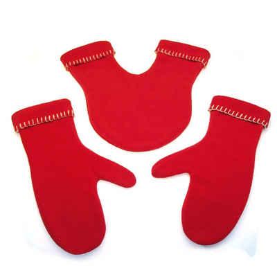 Radius Fleecehandschuhe »Handschuhe GLOVERS rot«