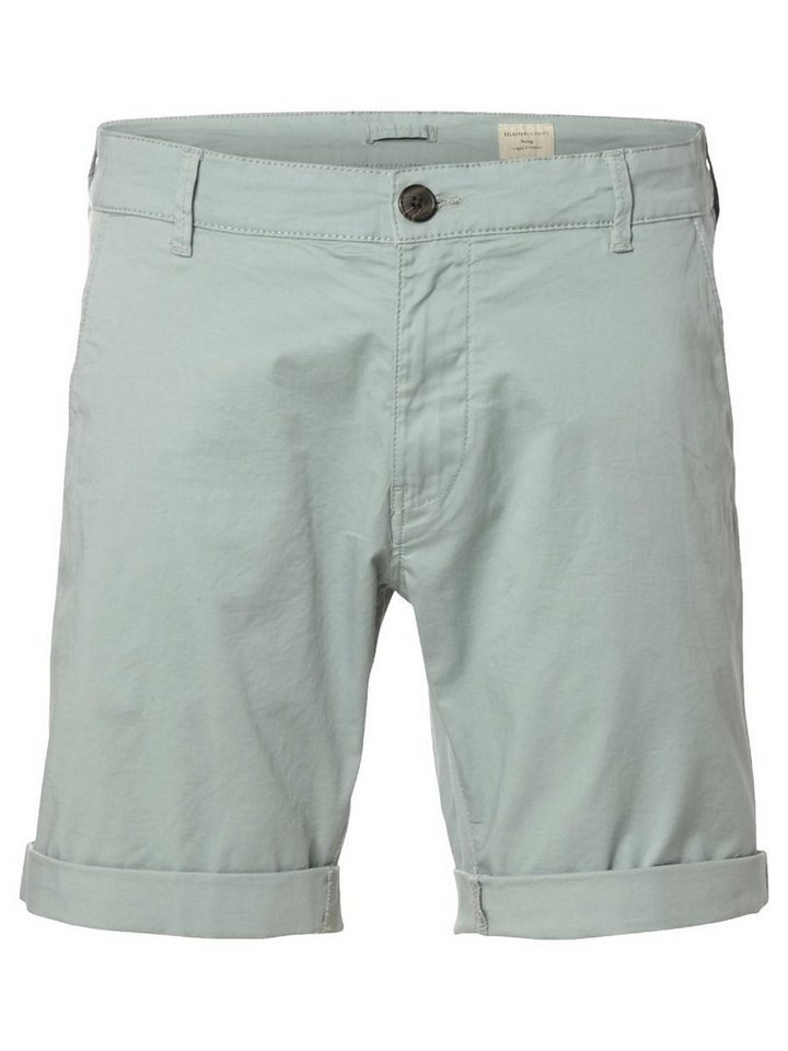 SELECTED Chino- Shorts in Slate Gray