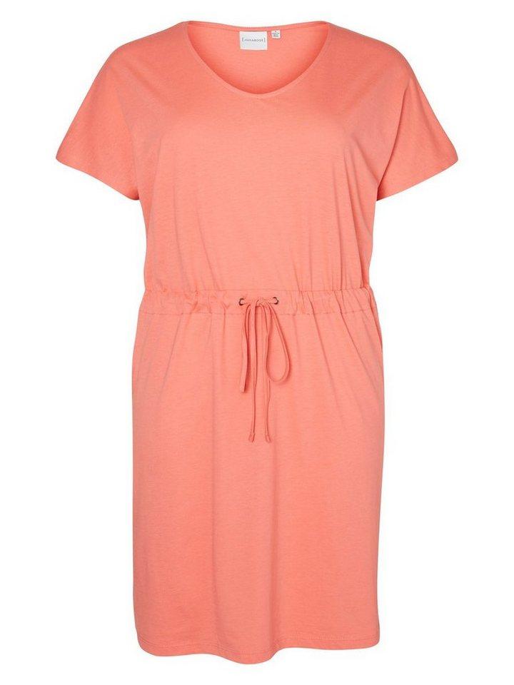 JUNAROSE Jersey- Kleid in Tea Rose
