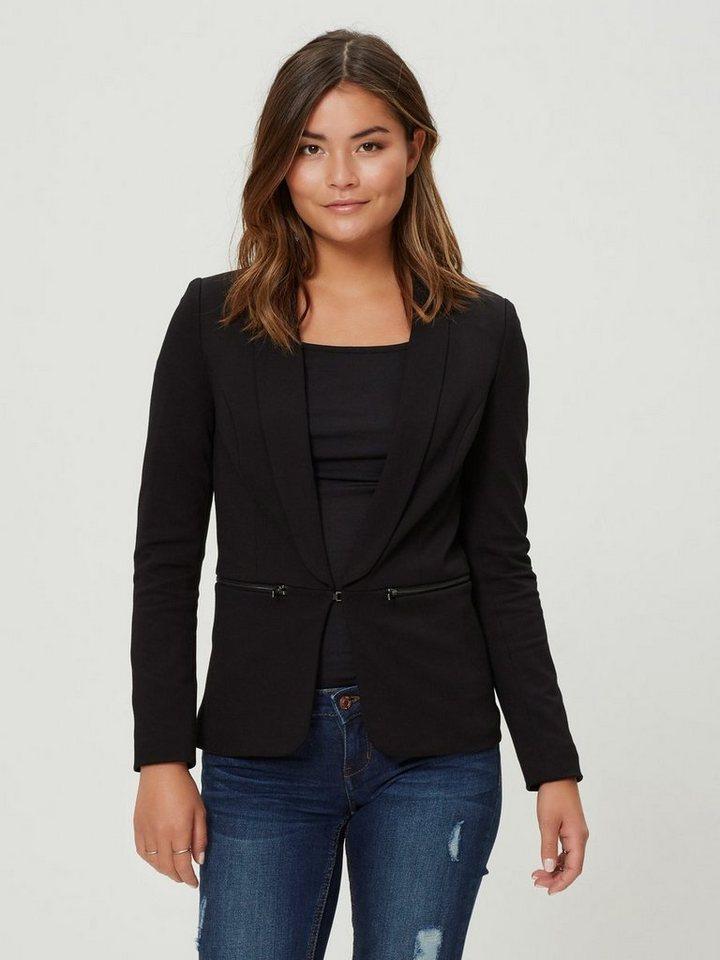 Vero Moda Kurzer Blazer in Black