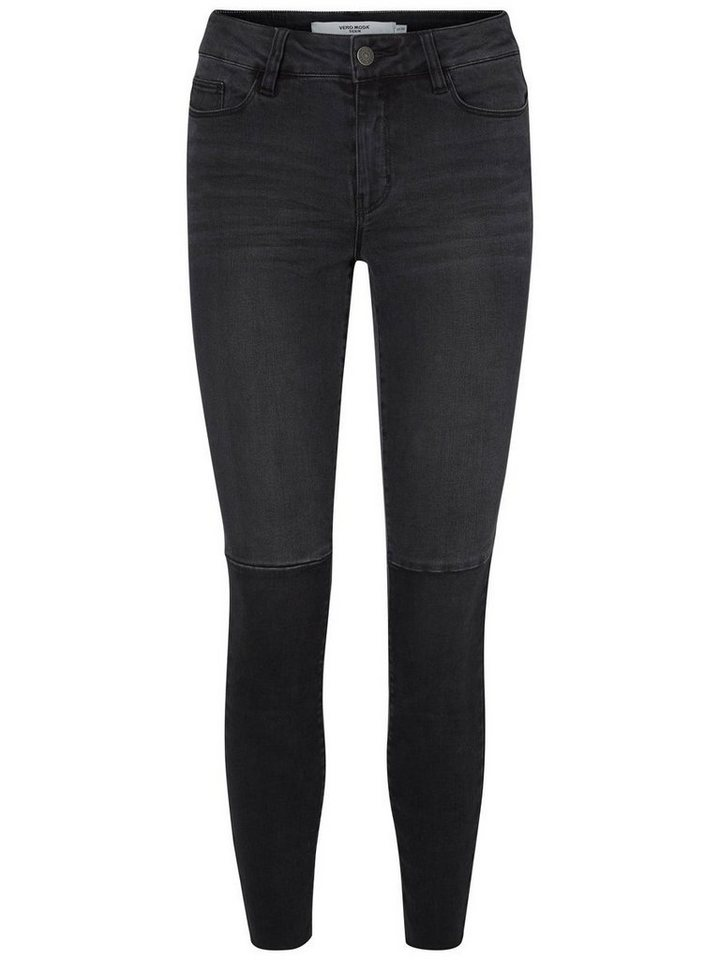 Vero Moda Seven NW Ankle Skinny Fit Jeans in Black