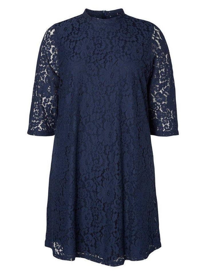 JUNAROSE A-Form- Kleid in Black Iris