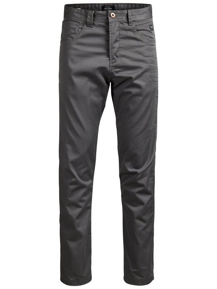 Jack & Jones Anti fit Chino in Charcoal Gray