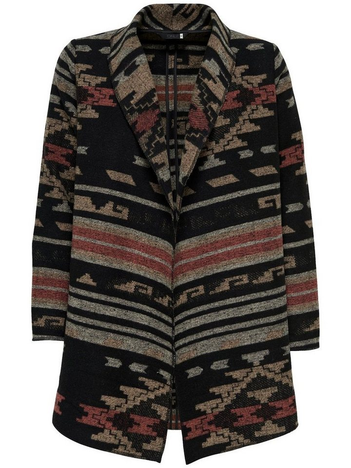 Only Jacquard- Jacke in Simply Taupe
