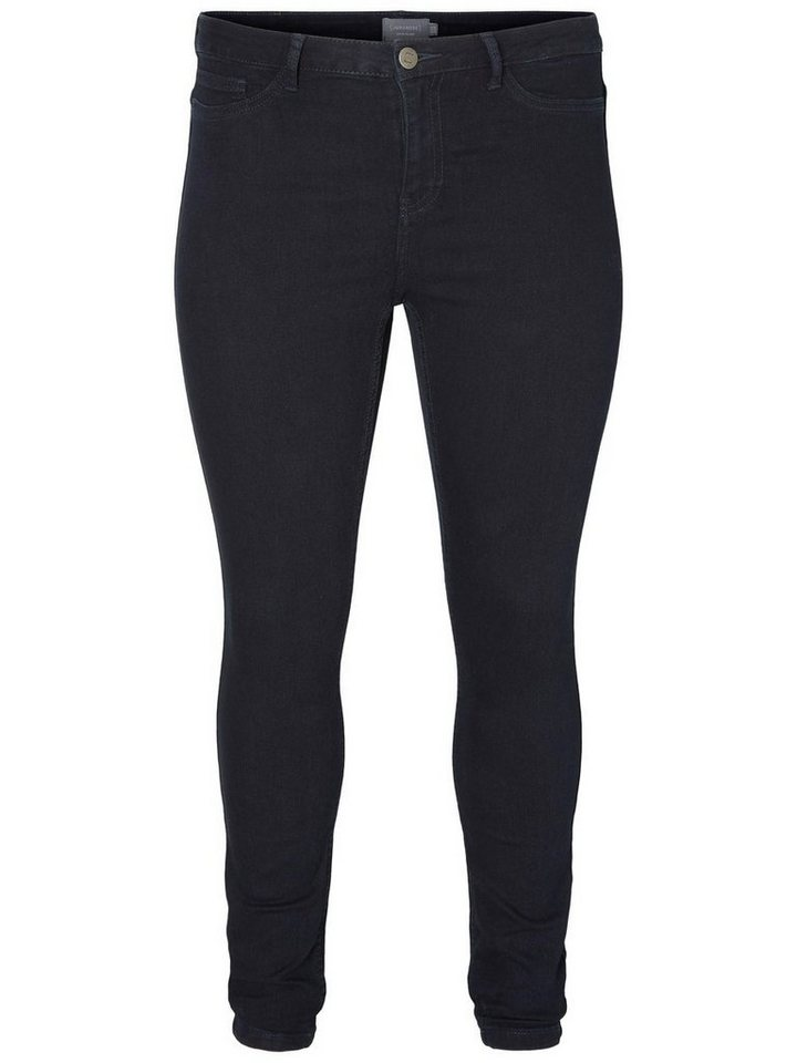 JUNAROSE JRQUEEN Jeans in Dark Blue Denim