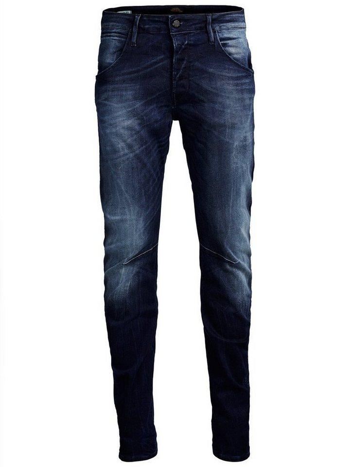 Jack & Jones Tim BL 679 Slim Fit Jeans in Blue Denim