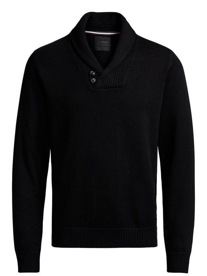 PRODUKT Klassischer Pullover in Black