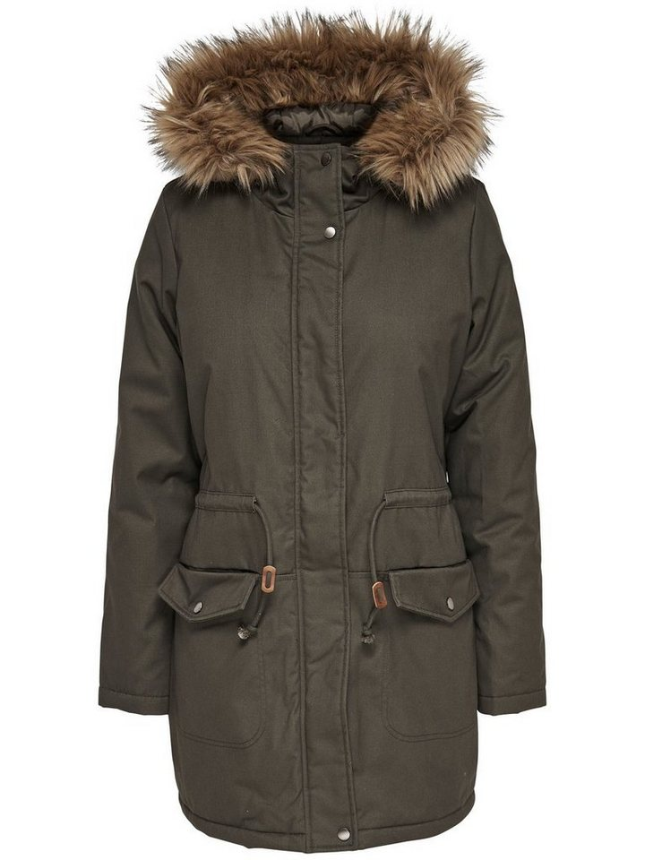 Only Parka in DUSTY OLIVE