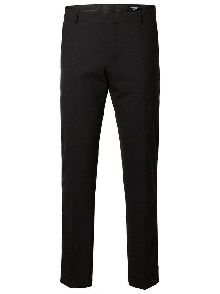 SELECTED Antonio Banderas - Anzughose in Black
