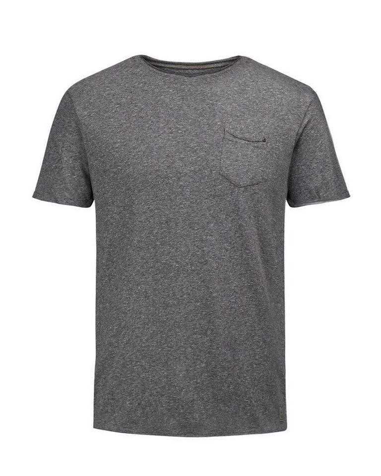 Jack & Jones T-Shirt in DARK GREY MELANGE