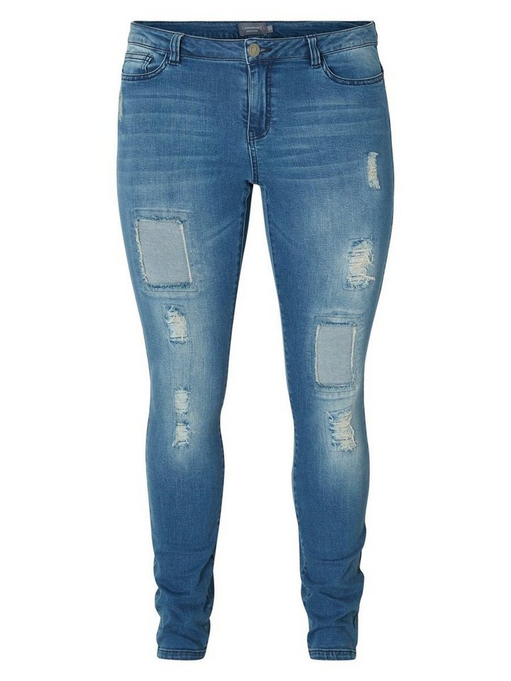 JUNAROSE JRFIVE Jeans in Dark Blue Denim