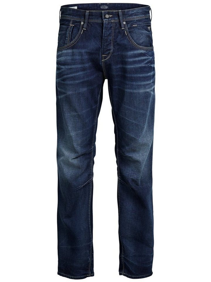 Jack & Jones Boxy Leed JJ 979 Loose Fit Jeans in Blue Denim