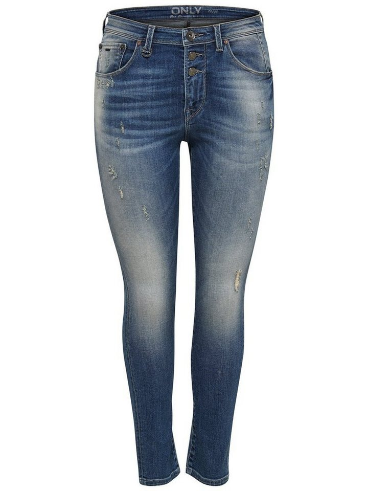 Only Liberty Anti Fit Jeans in Medium Blue Denim
